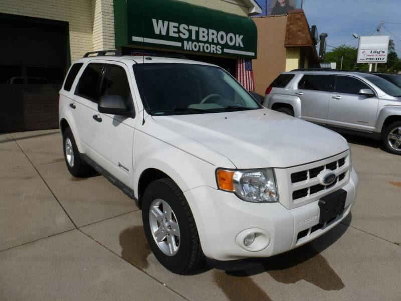 2010 Ford Escape Hybrid for sale at Westbrook Motors in Grand Rapids MI