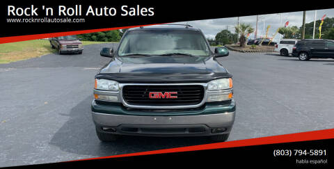2004 GMC Yukon for sale at Rock 'n Roll Auto Sales in West Columbia SC