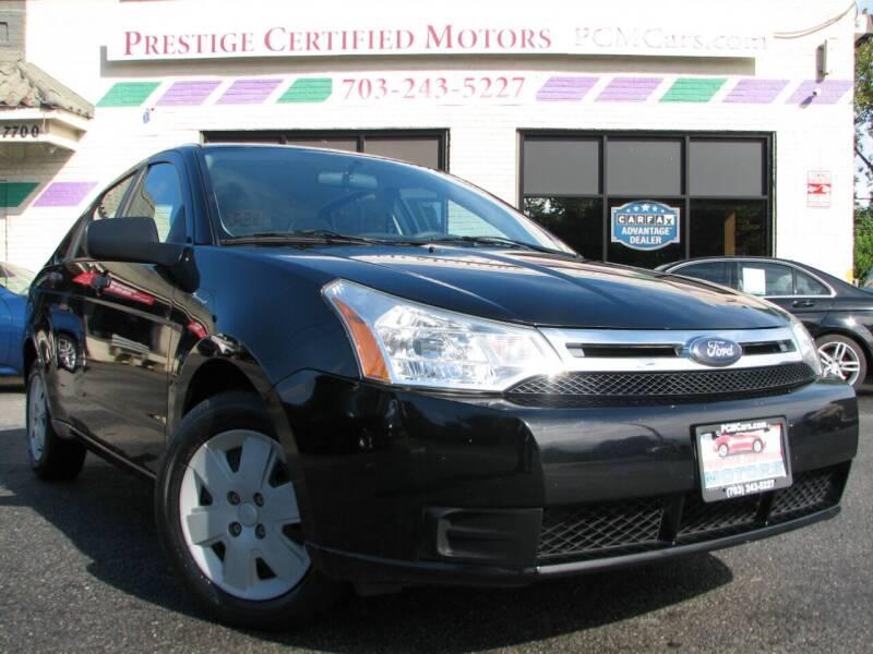 2008 Ford Focus for sale at Prestige Certified Motors in Falls Church VA