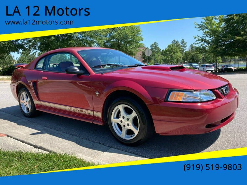 2002 Ford Mustang for sale at LA 12 Motors in Durham NC