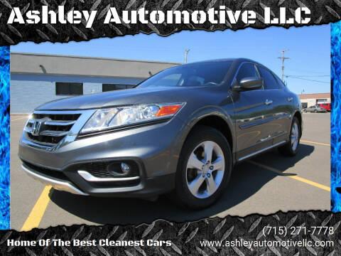 2013 Honda Crosstour for sale at Ashley Automotive LLC in Altoona WI