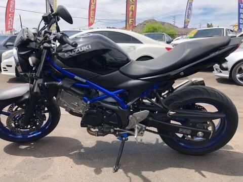 2019 Suzuki SV650 for sale at Baba's Motorsports, LLC in Phoenix AZ