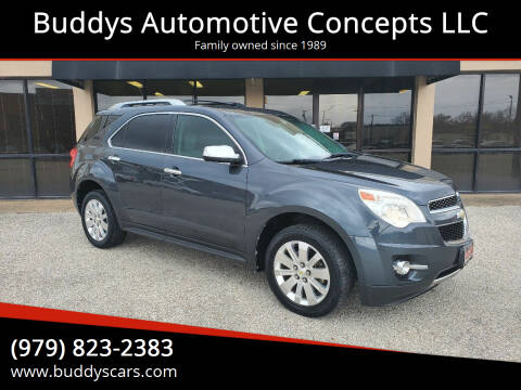 2010 Chevrolet Equinox for sale at Buddys Automotive Concepts LLC in Bryan TX