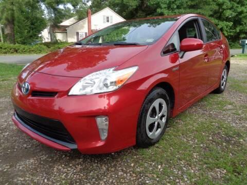 2015 Toyota Prius for sale at Liberty Motors in Chesapeake VA