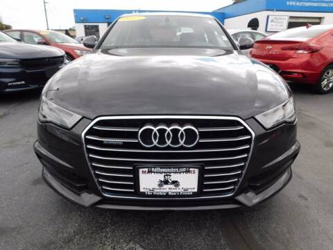 2017 Audi A6 for sale at Auto Finance of Raleigh in Raleigh NC