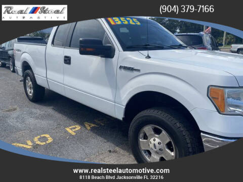2010 Ford F-150 for sale at Real Steel Automotive in Jacksonville FL