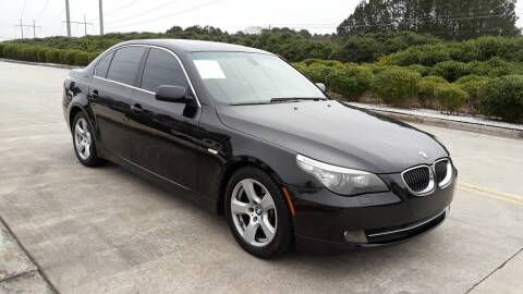 2008 BMW 5 Series for sale at Don Roberts Auto Sales in Lawrenceville GA
