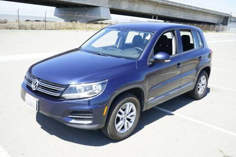 2012 Volkswagen Tiguan for sale at Sports Plus Motor Group LLC in Sunnyvale CA