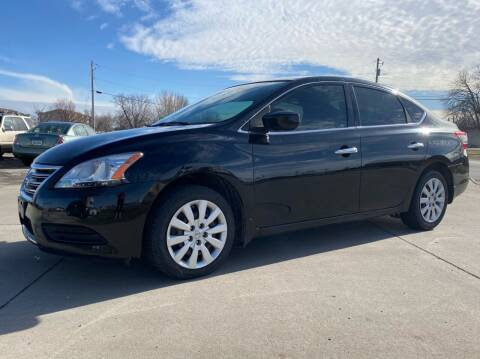 2015 Nissan Sentra for sale at QUAD CITIES AUTO SALES in Milan IL