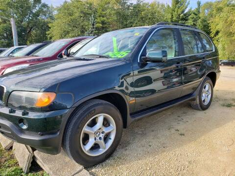 2001 BMW X5 for sale at Northwoods Auto & Truck Sales in Machesney Park IL
