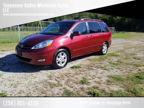 2006 Toyota Sienna for sale at Tennessee Valley Wholesale Autos LLC in Huntsville AL