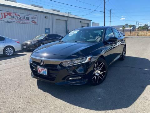 2018 Honda Accord for sale at SUPER AUTO SALES STOCKTON in Stockton CA