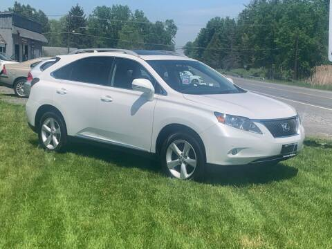2012 Lexus RX 350 for sale at Saratoga Motors in Gansevoort NY