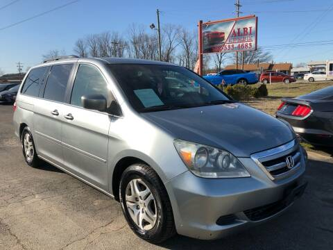 2006 Honda Odyssey for sale at Albi Auto Sales LLC in Louisville KY