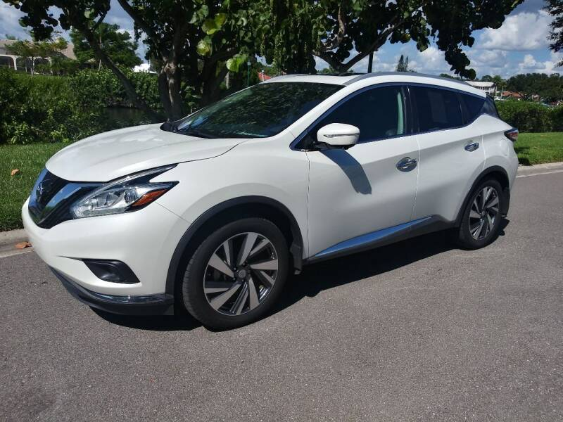 2015 Nissan Murano for sale at GulfCoast Motorsports in Osprey FL