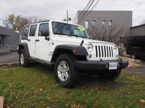 2017 Jeep Wrangler Unlimited for sale at MAPLECREST FORD LINCOLN USED CARS in Vauxhall NJ