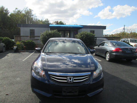 2011 Honda Accord for sale at Olde Mill Motors in Angier NC