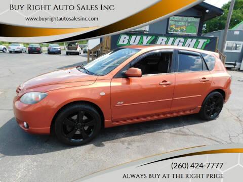 2005 Mazda MAZDA3 for sale at Buy Right Auto Sales Inc in Fort Wayne IN