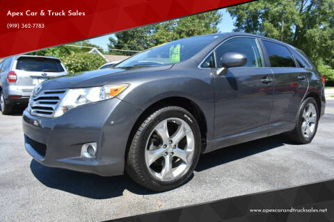 2011 Toyota Venza for sale at Apex Car & Truck Sales in Apex NC
