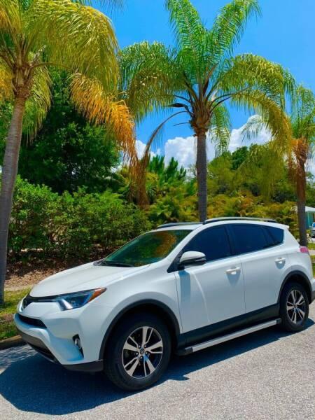 2017 Toyota RAV4 for sale at Krifer Auto LLC in Sarasota FL