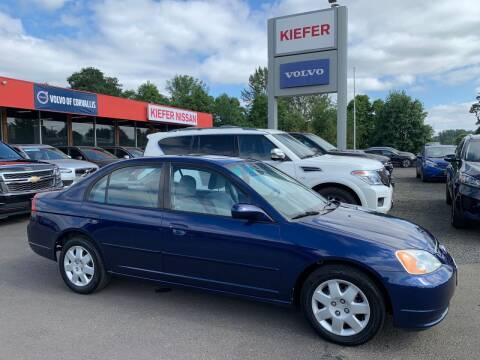 2002 Honda Civic for sale at Kiefer Nissan Budget Lot in Albany OR