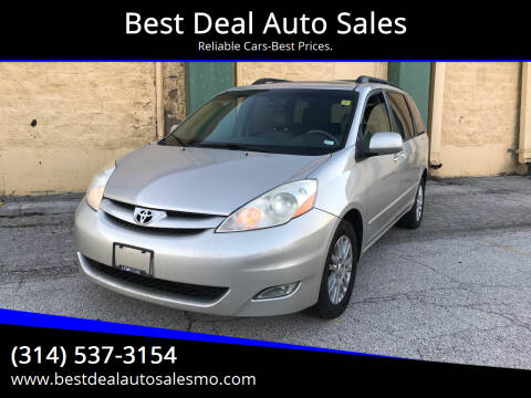 2008 Toyota Sienna for sale at Best Deal Auto Sales in Saint Charles MO