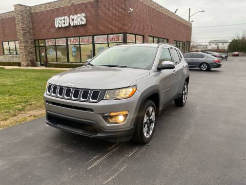 2019 Jeep Compass for sale at My Town Auto Sales in Madison Heights MI