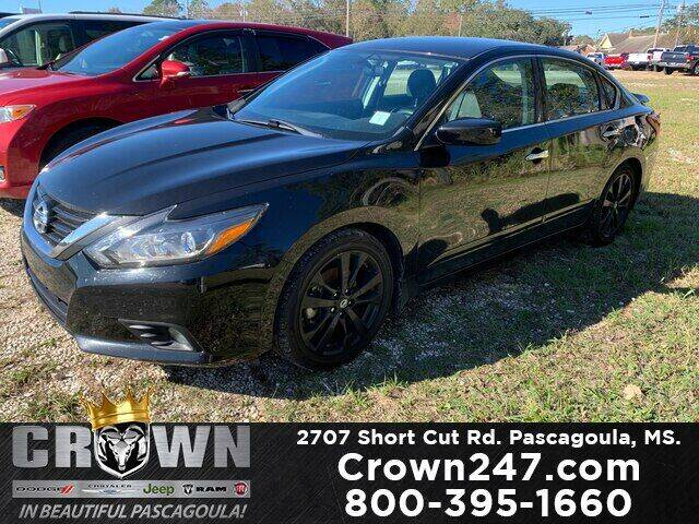 2017 Nissan Altima for sale at CROWN  DODGE CHRYSLER JEEP RAM FIAT in Pascagoula MS