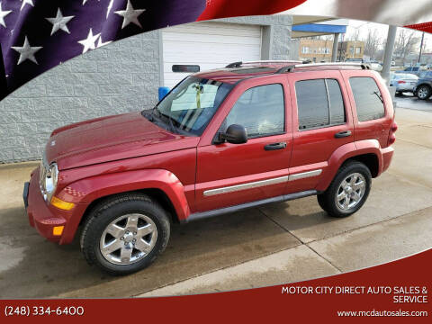 2007 Jeep Liberty for sale at Motor City Direct Auto Sales & Service in Pontiac MI