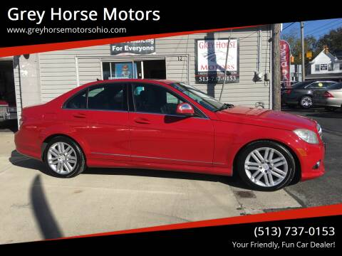 2009 Mercedes-Benz C-Class for sale at Grey Horse Motors in Hamilton OH