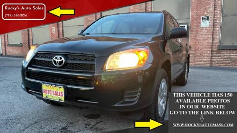 2012 Toyota RAV4 for sale at Rocky's Auto Sales in Worcester MA
