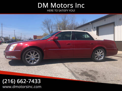 2008 Cadillac DTS for sale at DM Motors Inc in Maple Heights OH
