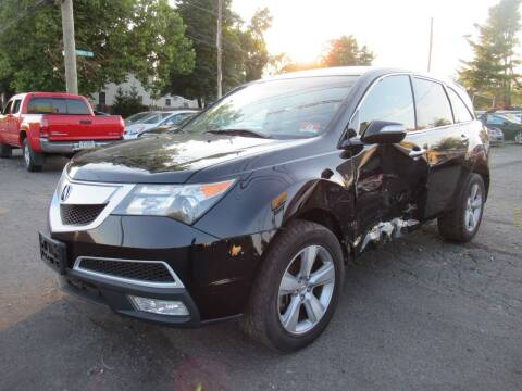 2011 Acura MDX for sale at PRESTIGE IMPORT AUTO SALES in Morrisville PA