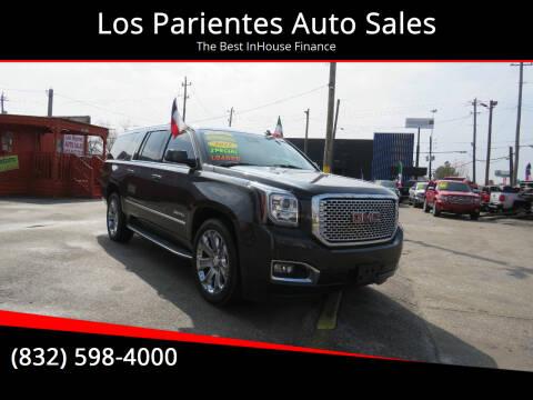 2015 GMC Yukon XL for sale at Los Parientes Auto Sales in Houston TX
