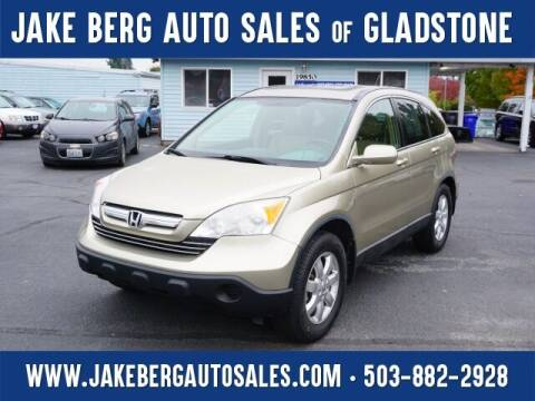 2007 Honda CR-V for sale at Jake Berg Auto Sales in Gladstone OR