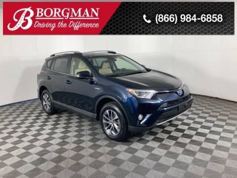 2018 Toyota RAV4 Hybrid for sale at BORGMAN OF HOLLAND LLC in Holland MI