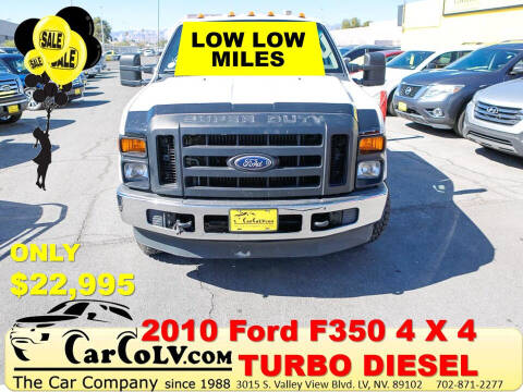 2010 Ford F-350 Super Duty for sale at The Car Company in Las Vegas NV