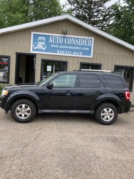 2010 Ford Escape for sale at Auto Consider Inc. in Grand Rapids MI