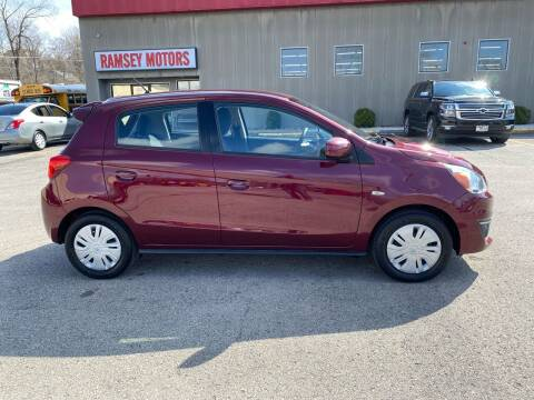 2017 Mitsubishi Mirage for sale at Ramsey Motors in Riverside MO