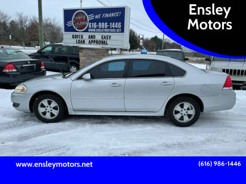 2011 Chevrolet Impala for sale at Ensley Motors in Allendale MI