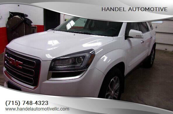 2016 GMC Acadia for sale at Handel Automotive in Medford WI