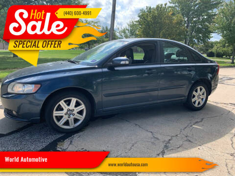 2008 Volvo S40 for sale at World Automotive in Euclid OH