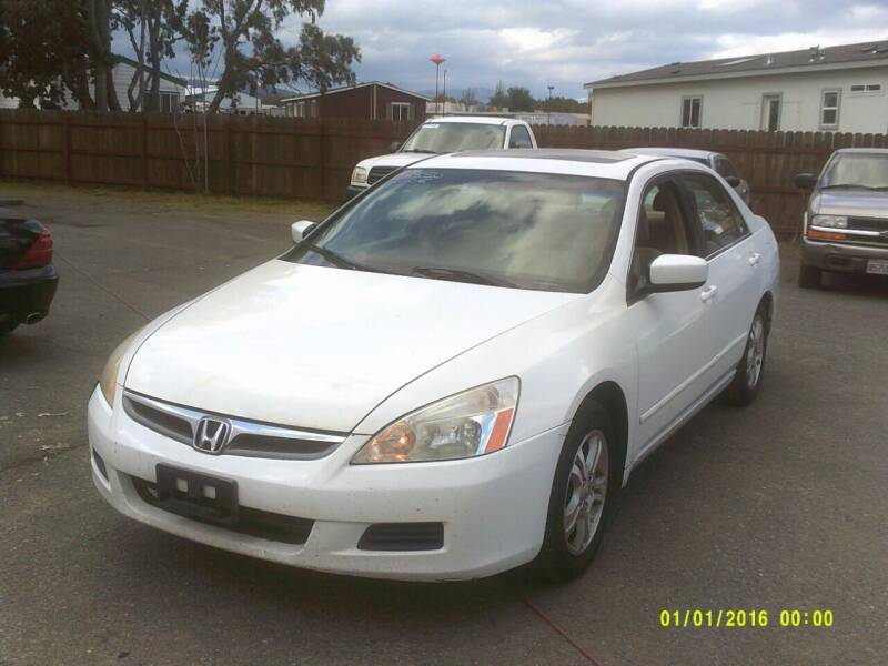 2006 Honda Accord for sale at Mendocino Auto Auction in Ukiah CA
