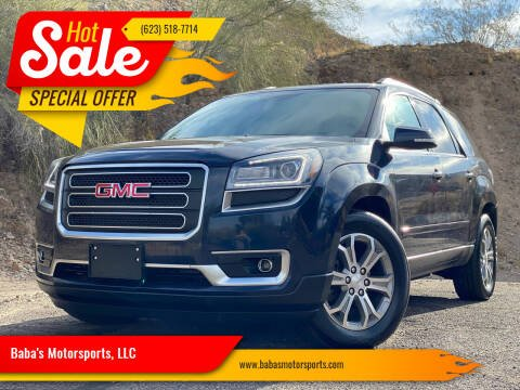 2015 GMC Acadia for sale at Baba's Motorsports, LLC in Phoenix AZ