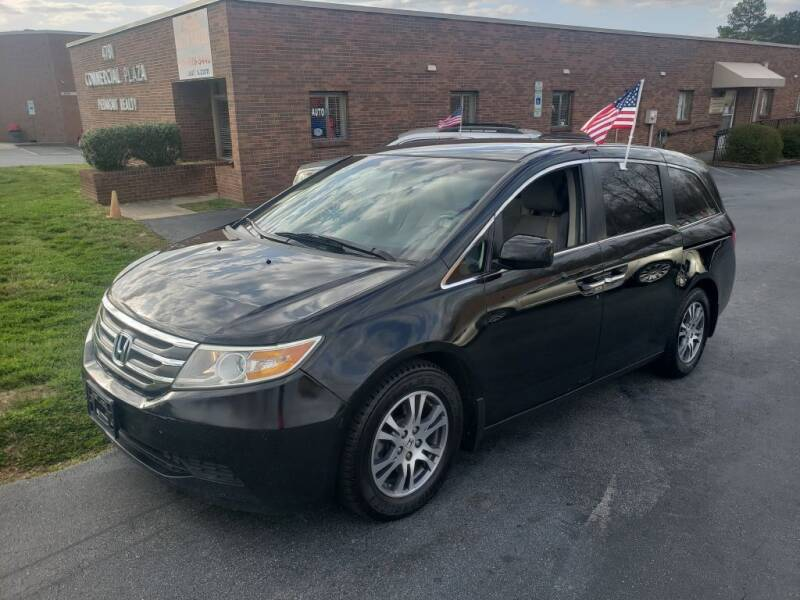 2012 Honda Odyssey for sale at ARA Auto Sales in Winston-Salem NC