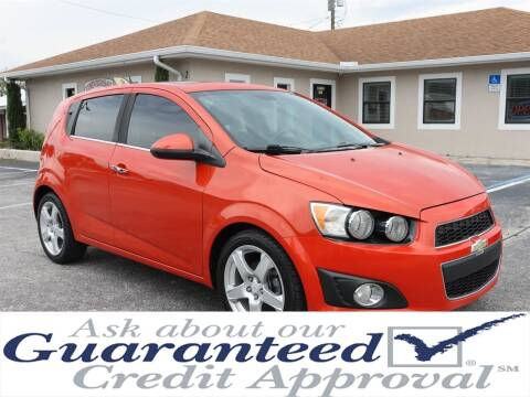 2012 Chevrolet Sonic for sale at Universal Auto Sales in Plant City FL