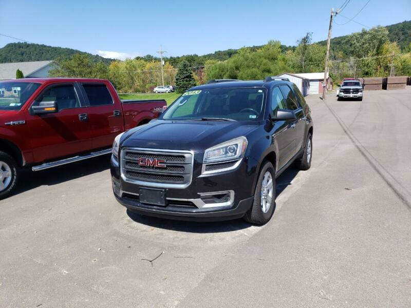 2013 GMC Acadia for sale at Greens Auto Mart Inc. in Wysox PA