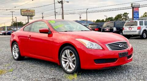 2010 Infiniti G37 Coupe for sale at Auto Headquarters in Lakewood NJ