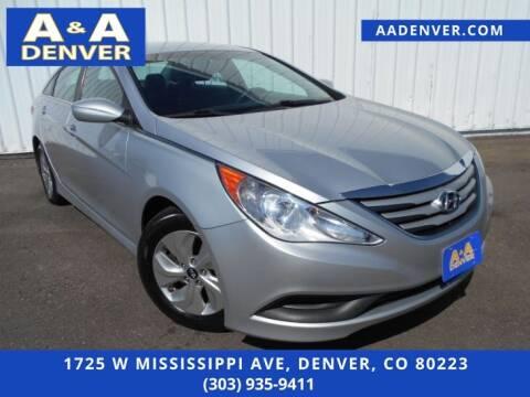 2014 Hyundai Sonata for sale at A & A AUTO LLC in Denver CO