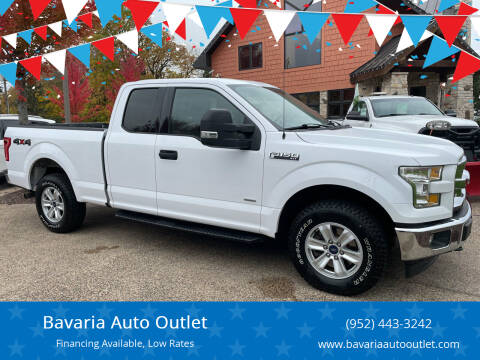 2016 Ford F-150 for sale at Bavaria Auto Outlet in Victoria MN